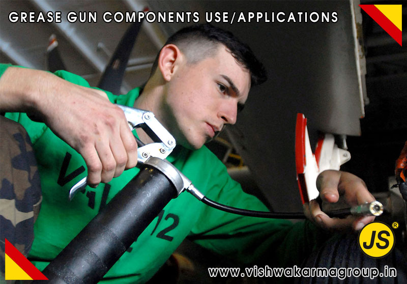 Grease Gun Components and Lubricating Equipments Uses & Applications